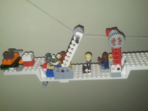 Passengers on Main Battle Plane