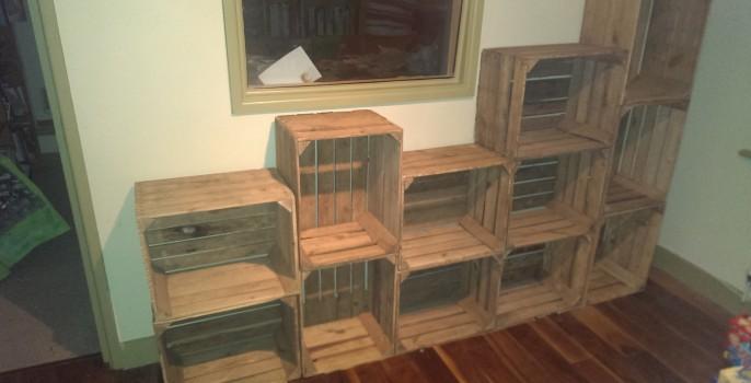 Created Crate Storage