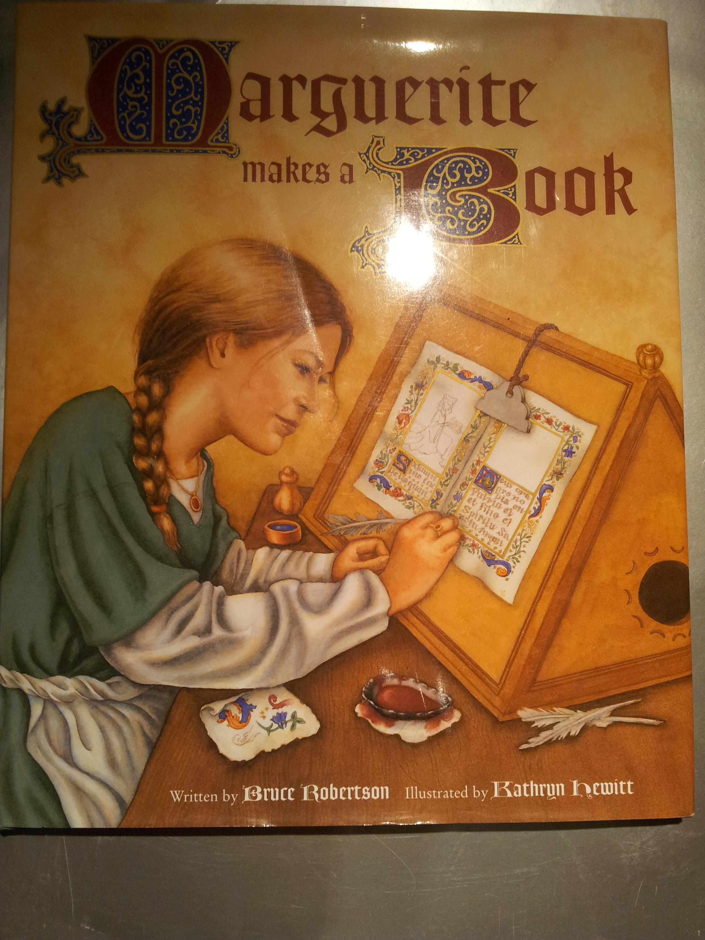 Marguerite Makes a Book (Getty Trust Publications: J. Paul Getty Museum)