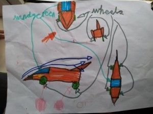 This is my pinewood derby car design