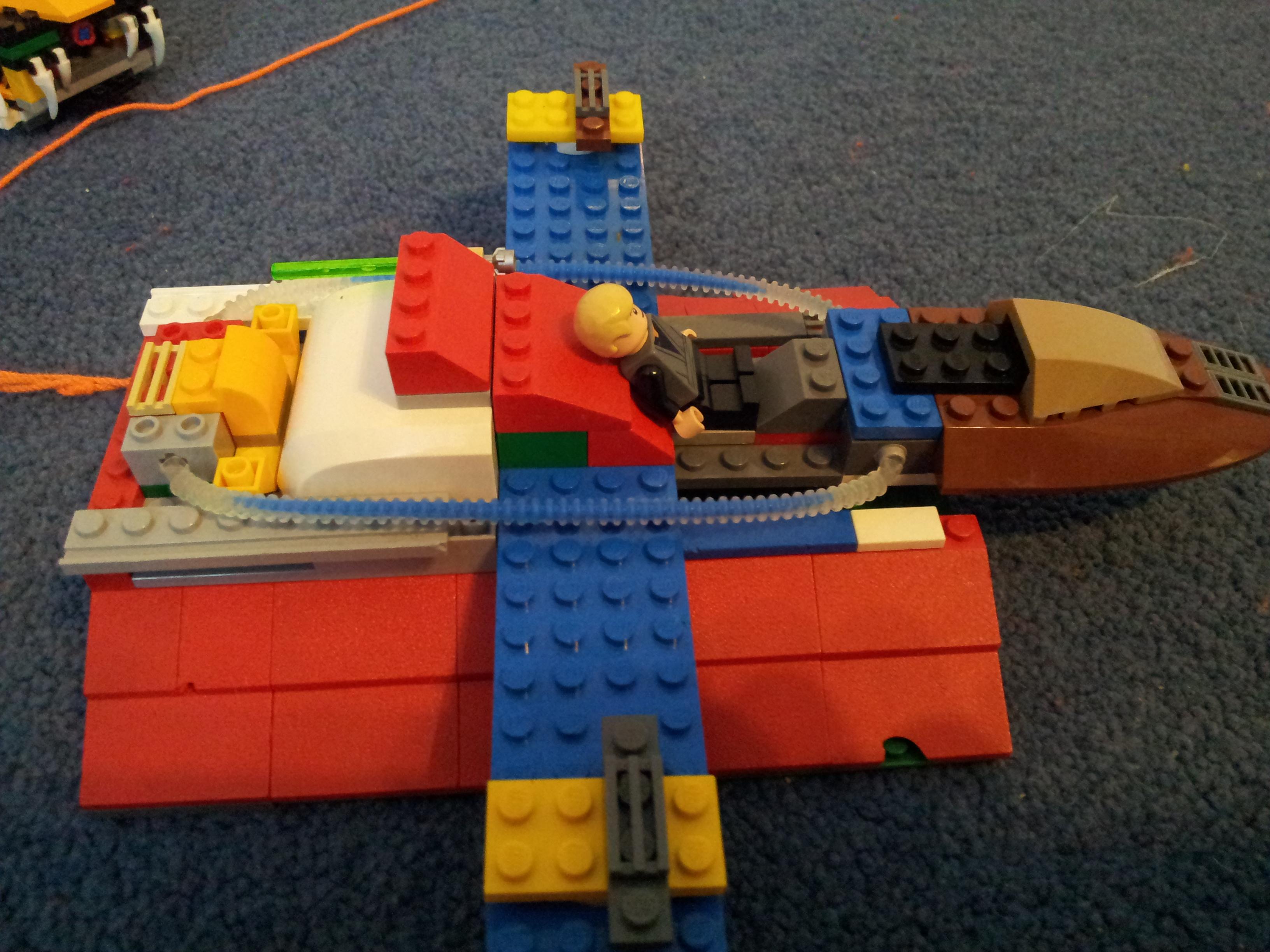 Luke's Plane