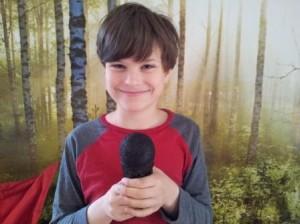 Special Reporter Samuel (10yrs):
