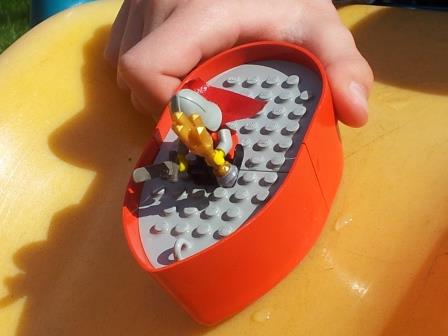 My LEGO Boat Experiment
