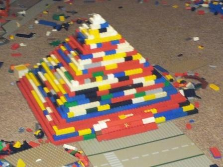 My LEGO CHIMA jump